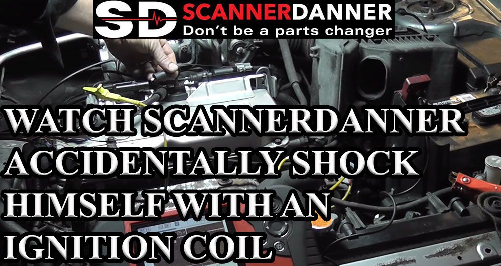 Watch Scannerdanner Accidentally Shock Himself With An