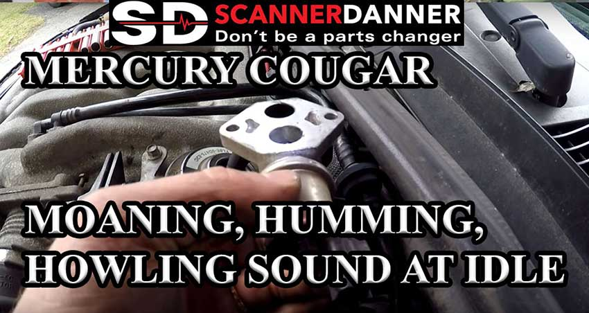 Mercury Cougar moaning, humming, howling sound at idle (bad