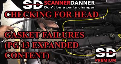 CHECKING FOR HEAD GASKET FAILURES PG 13 EXPANDED CONTENT 400