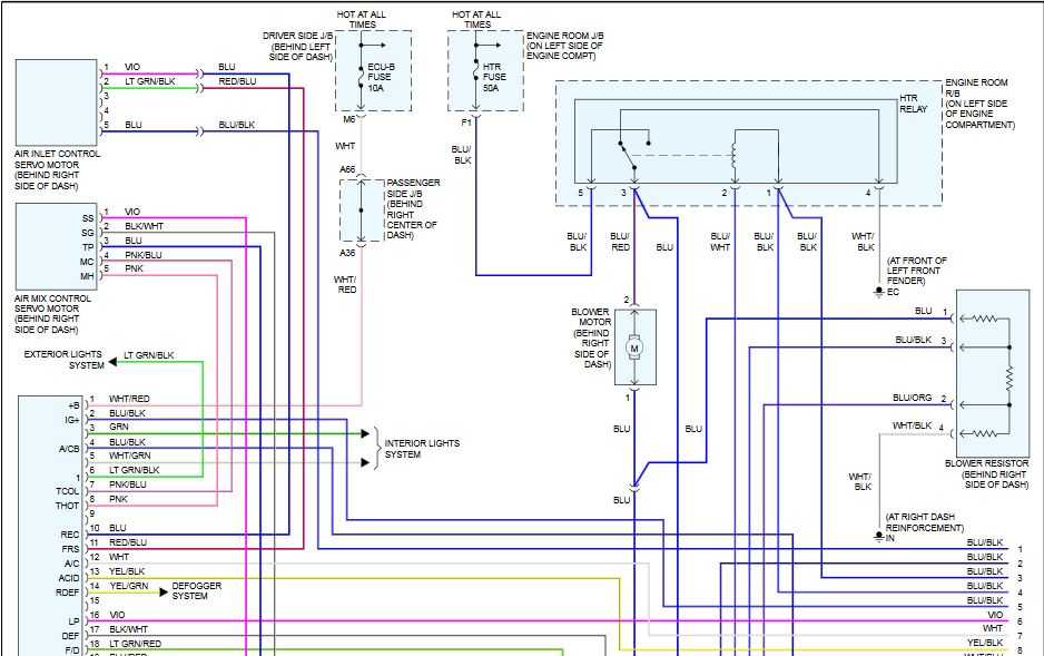 2003 toyota camry v6 a c wiring diagram scannerdanner 2000 toyota camry engine diagram new