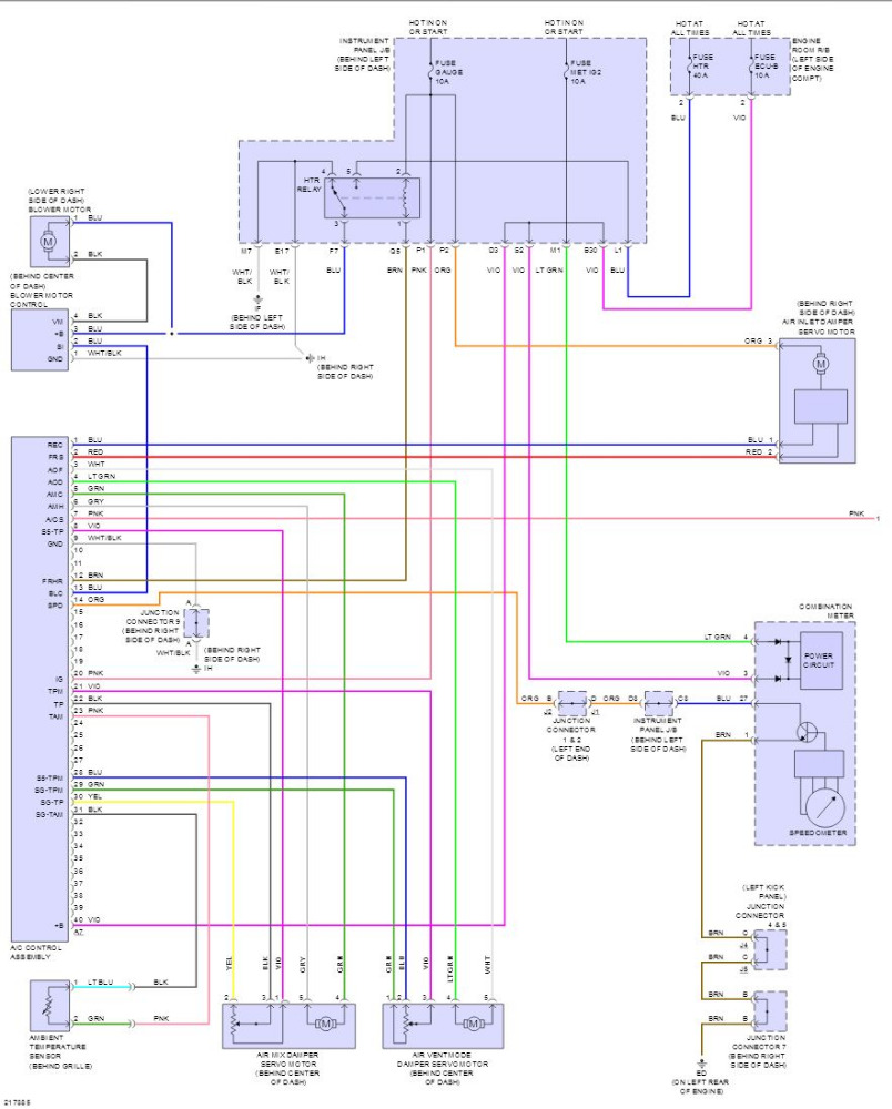 2005 Scion Tc Ac Wiring Diagram
