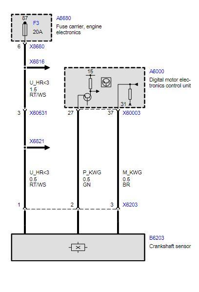 2002 Bmw 316i E46 Is The Crankshaft Sensor Dead Scannerdanner Forum Scannerdanner