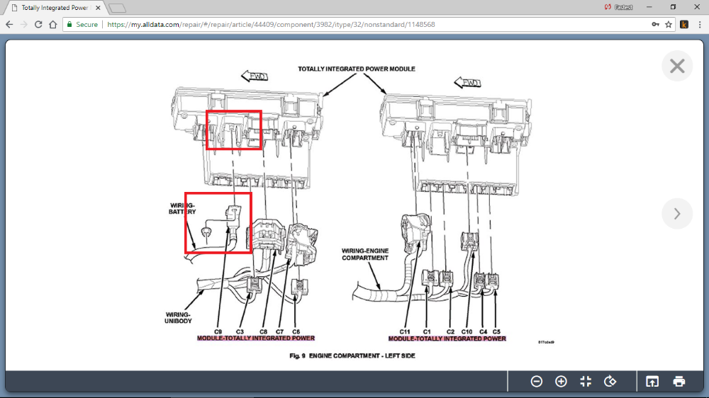 2009 Jeep Patriot Fuse Box Diagram