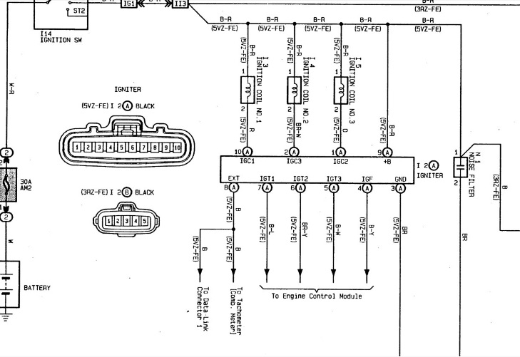 4runnerigniter: Toyota Igniter Wiring Diagram At Gundyle.co