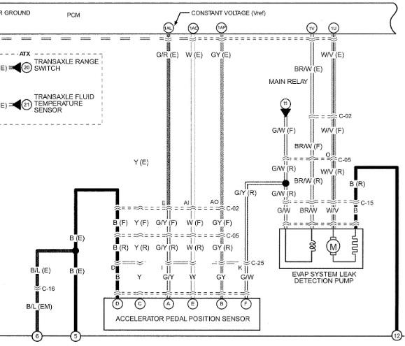 Smart Car Wiring Diagram Throttle