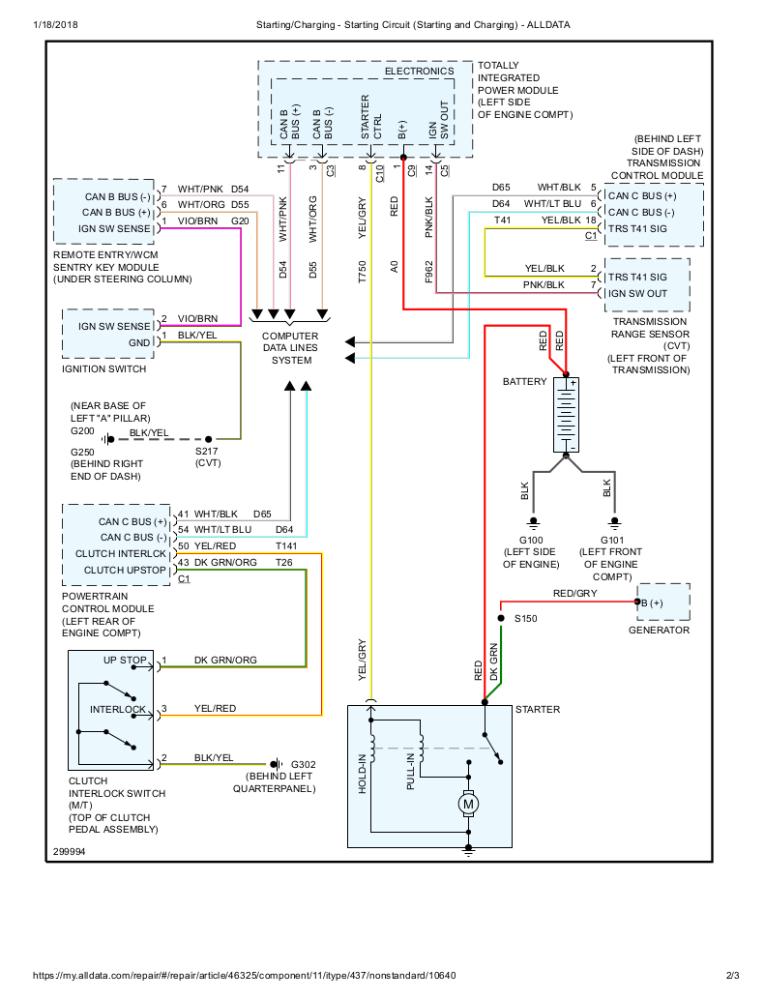 2007 Dodge Caliber Sxt Radio Wiring Diagram