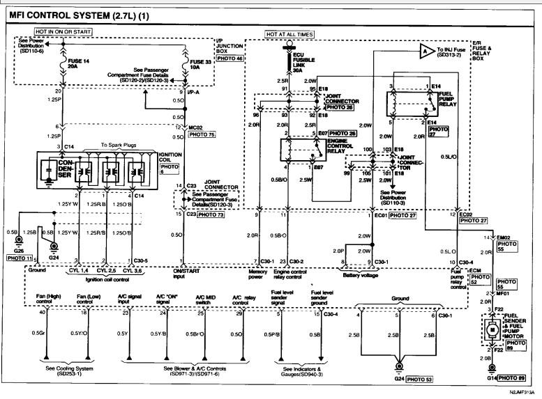 2006 hyundai tuscon 2 7 crank but no start - scannerdanner forum